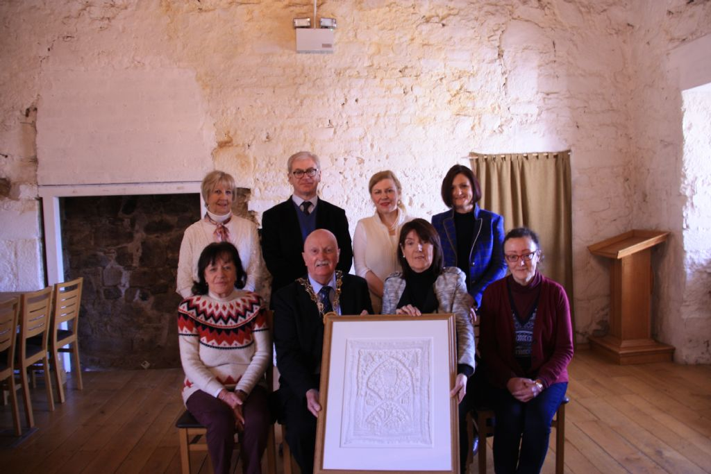 Newry and Mourne Museum Presented with Unique Clanrye Lace