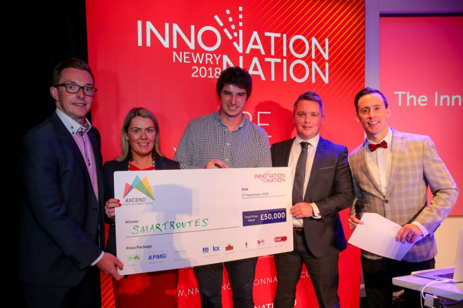 Innovation Nation 2018: SmartRoutes scoops £50,000 prize in Ascend start-up competition