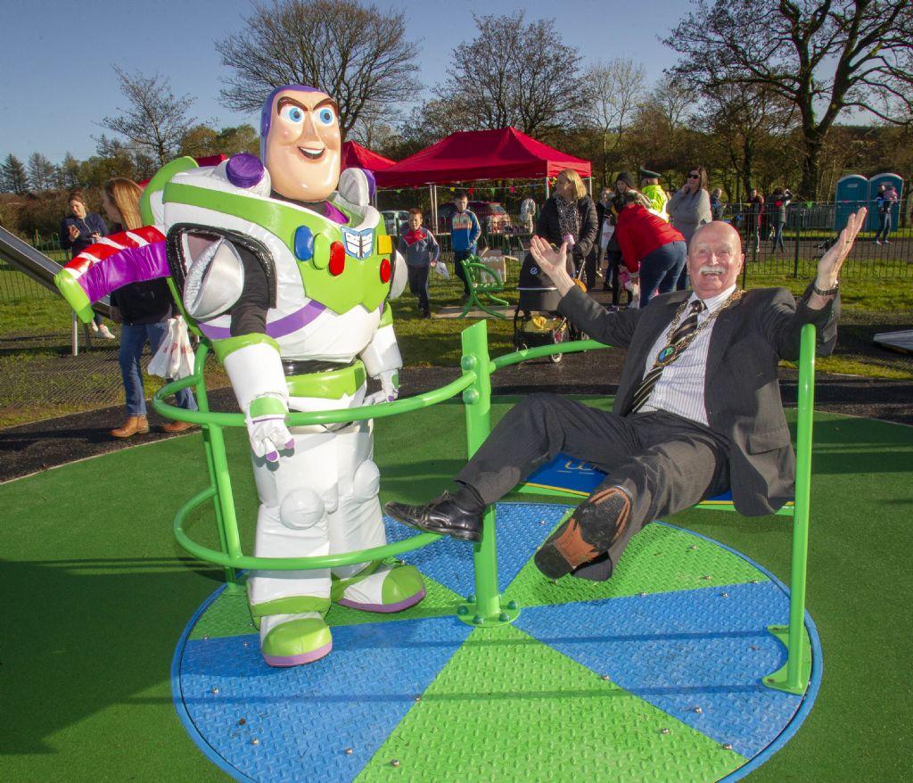 New Play Park Opens in Newtownhamilton