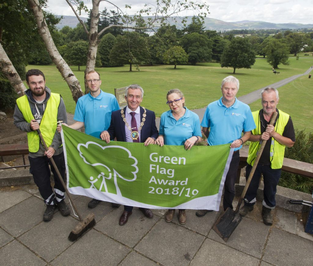 Kilbroney Park Awarded Prestigious Green Flag Award