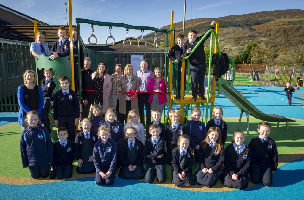 Meigh Play Park Official Opening