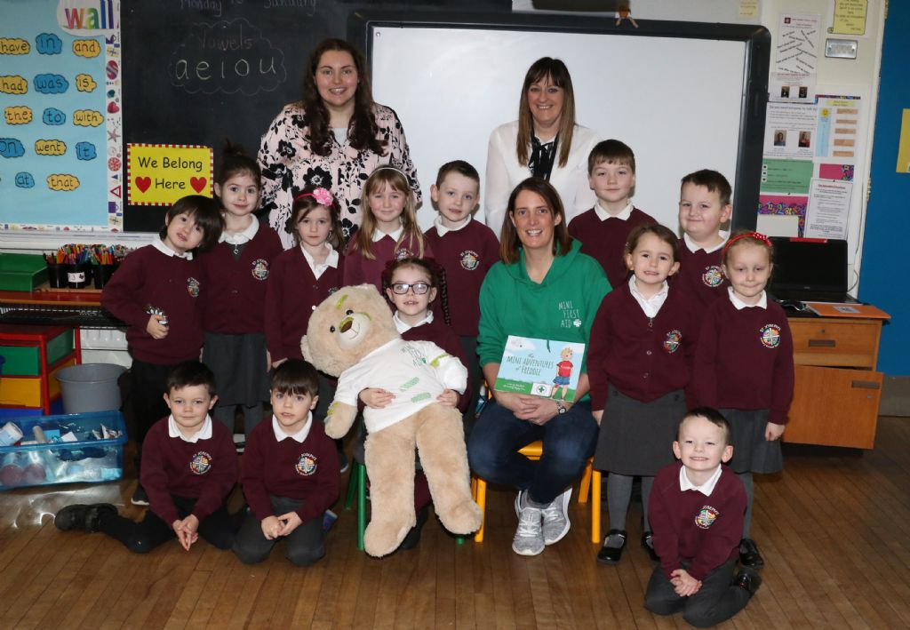 St Joseph's Primary School, Ballycruttle Learn First Aid
