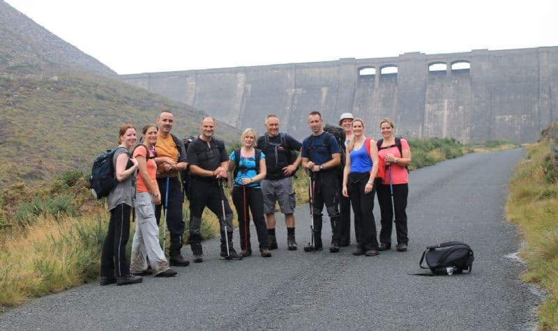 YOUTHS TACKLE THE MOURNE MOUNTAIN ADVENTURE CHALLENGE
