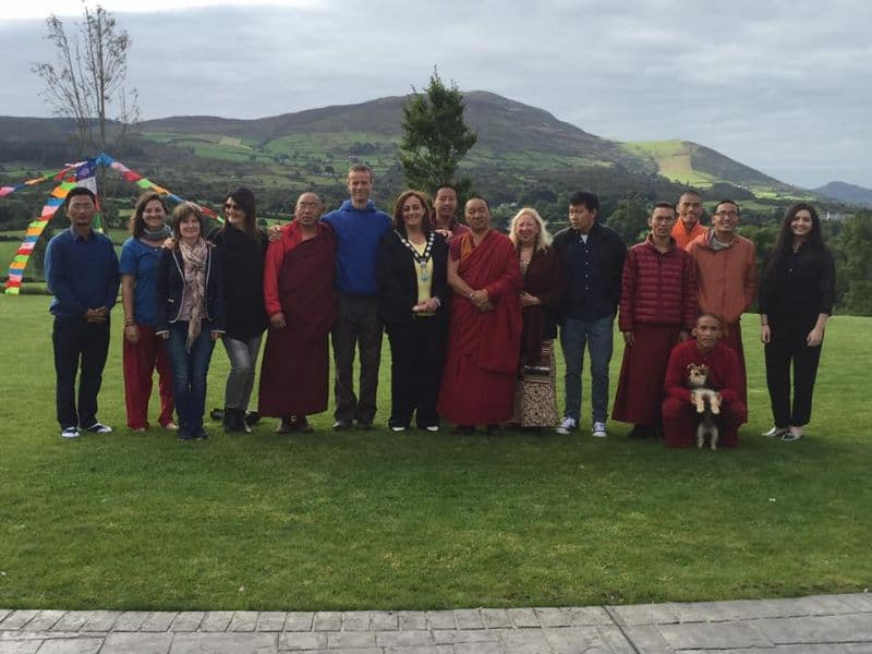 Special Visitors Enjoy the Ring of Gullion Heritage Coach Tour