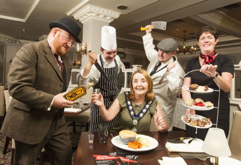 Murder on the Menu at Canal Court Hotel and Spa, Newry