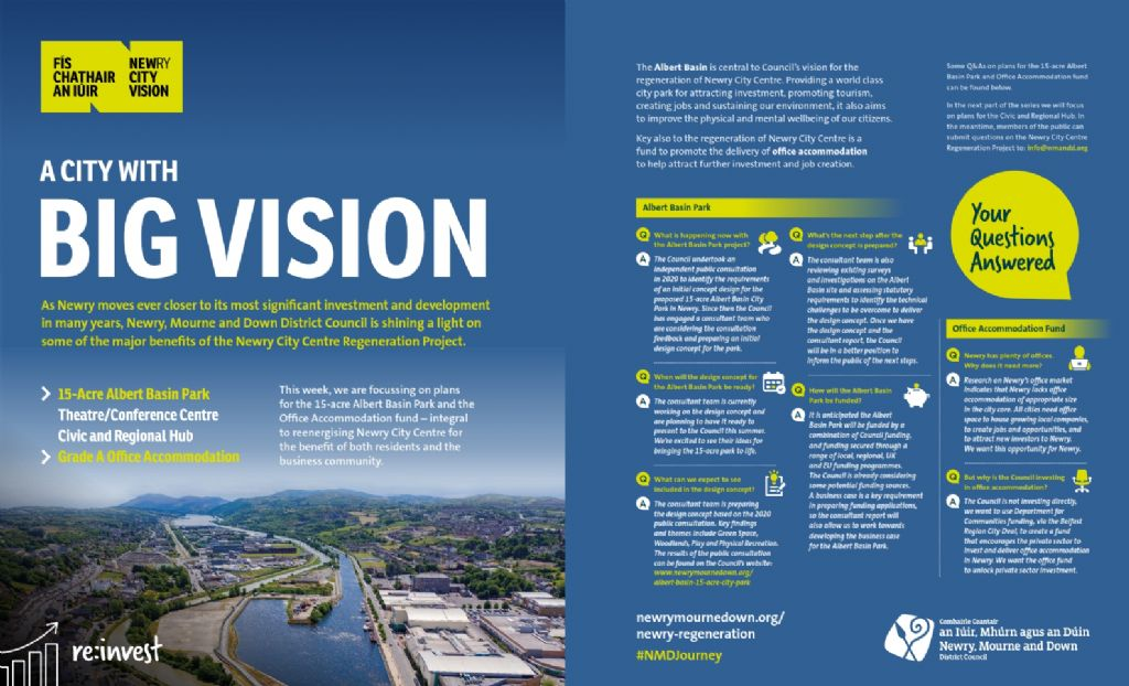 Next Steps for Newry City Centre Regeneration Proposals