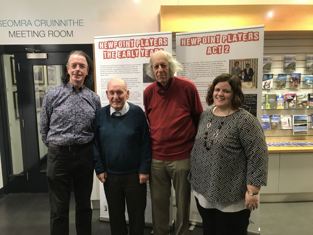 Memoirs of Newpoint Players at Newry and Mourne Museum