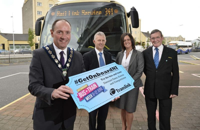 'Get On Board' Northern Ireland's first ever Bus and Train Week
