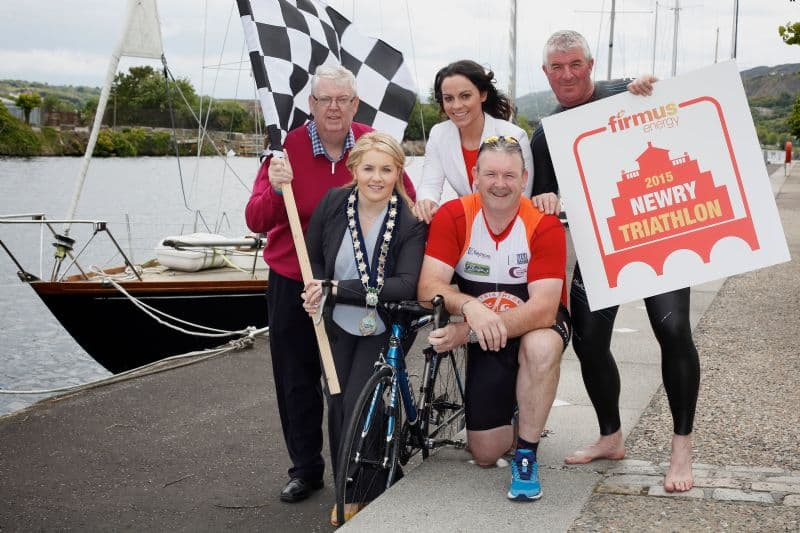 Upwards on 200 signed up for firmus energy Newry City Triathlon – so far!