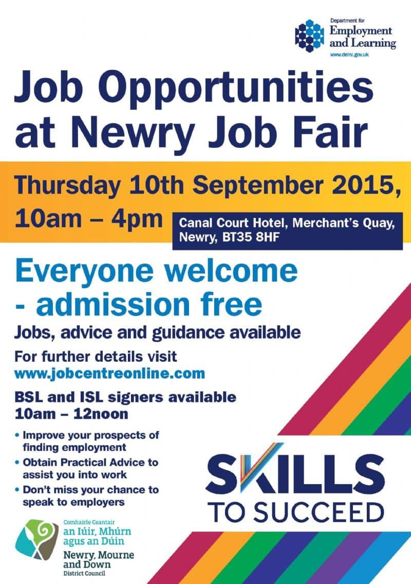 Job Opportunities at Newry Job Fair