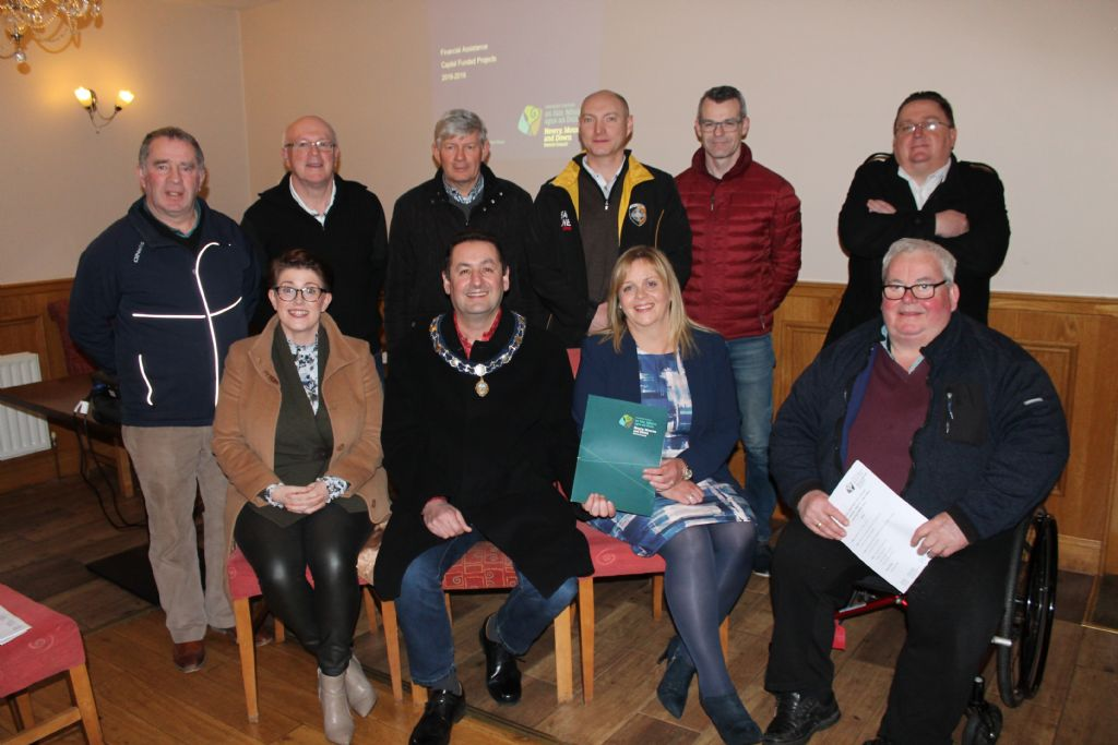 Newry, Mourne and Down District Council Provides Capital Financial Assistance for Community and Sports Projects