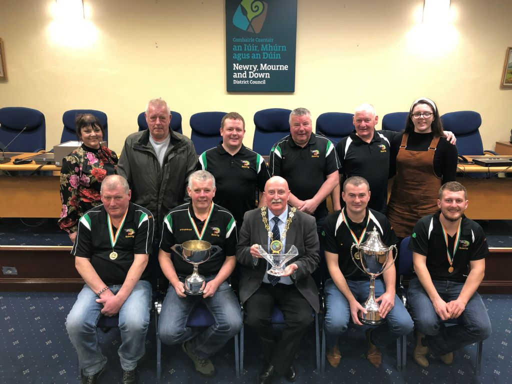 Newry Pike Anglers Success Acknowledged by Council Chairperson