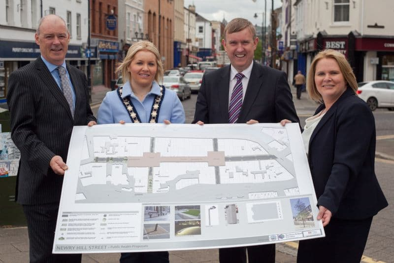 £860,000 Newry regeneration scheme will transform Cathedral Corridor