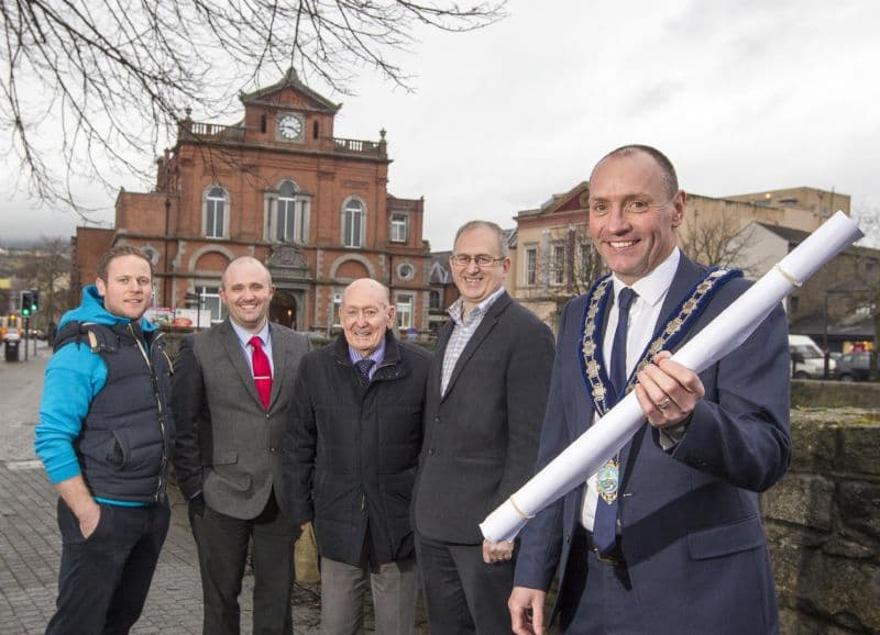 Newry Town Hall Gets a Makeover