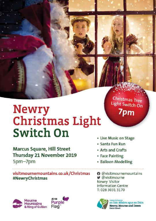 Light Up this Christmas in Newry and Downpatrick