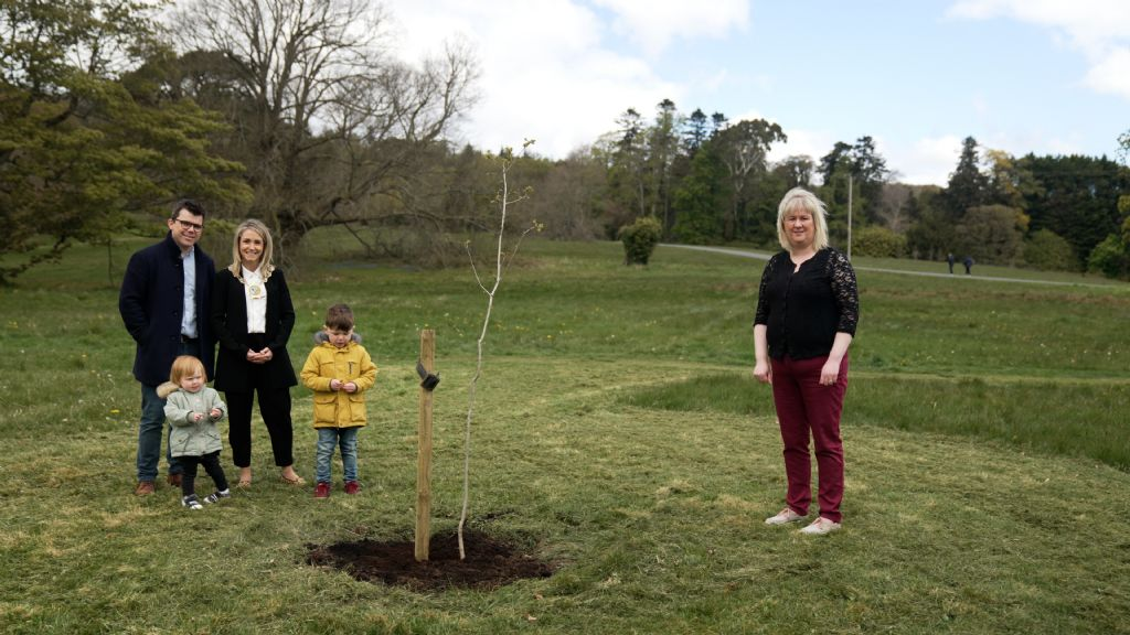 Newry Mourne and Down District Council Chairperson Plants Oak Trees Across District Electoral Areas to Recognise Community Spirit during COVID-19