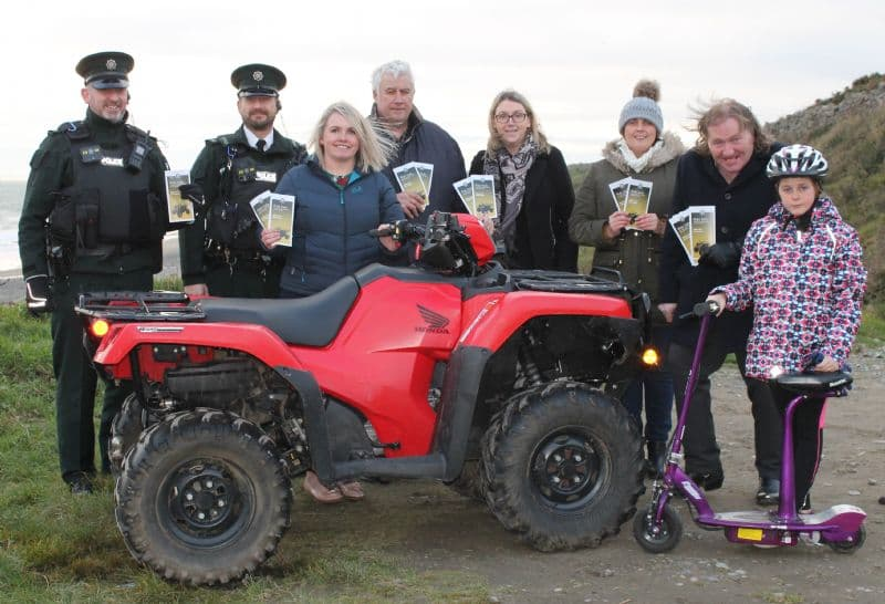 "Newry, Mourne and Down PCSP Encourages Parents to ""Ride Safe"" regarding off-road vehicles this Christmas"