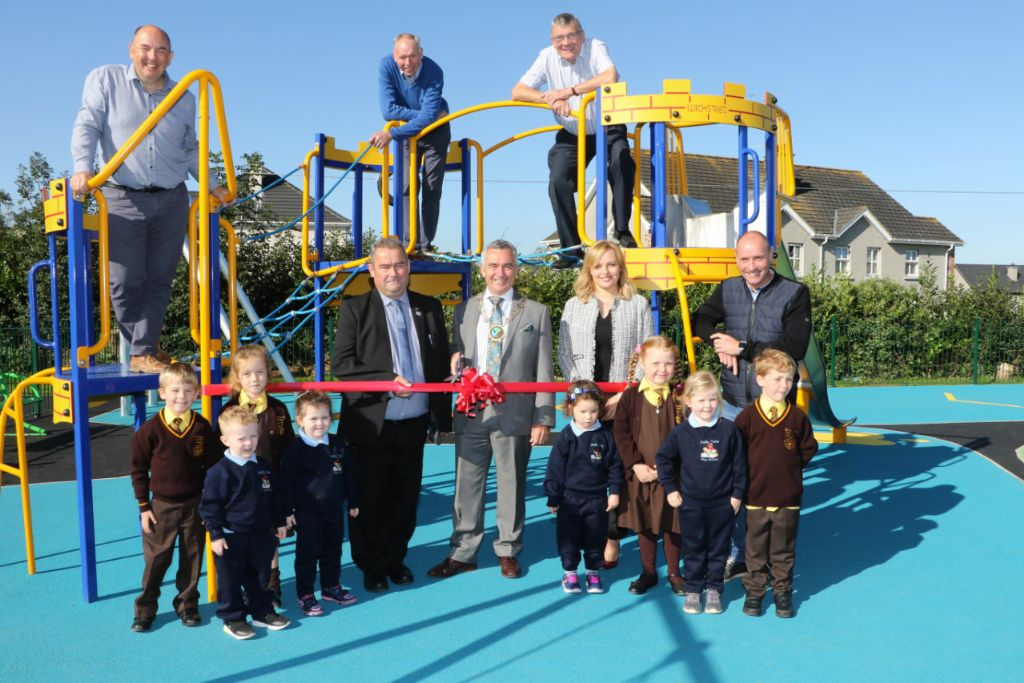 Children Delighted With New Play Park In Mayobridge