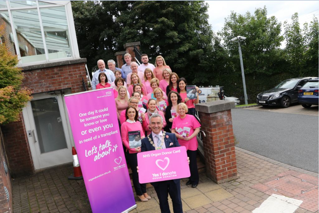 Council Goes Pink for Organ Donation Awareness