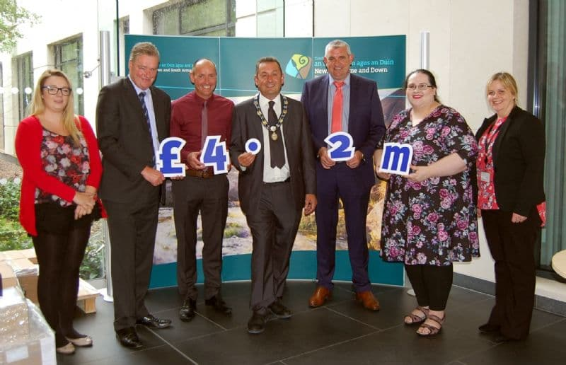 Newry, Mourne and Down District Council Welcomes £4.2m EU Funding
