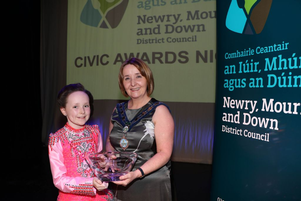Chairperson Hosts Awards Ceremony