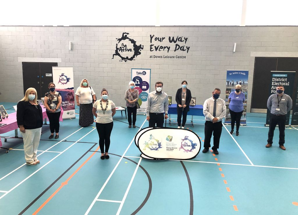 DEAs Celebrate Success of 'Be Active and Smile' Partnership Programme