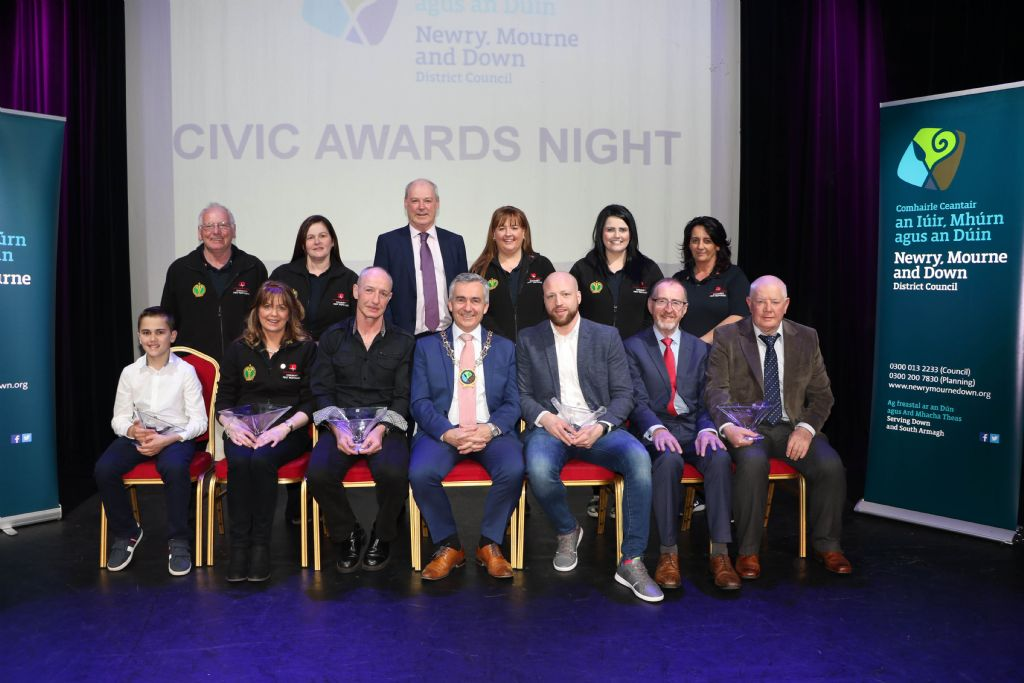 Chairman hosts Civic Awards Reception