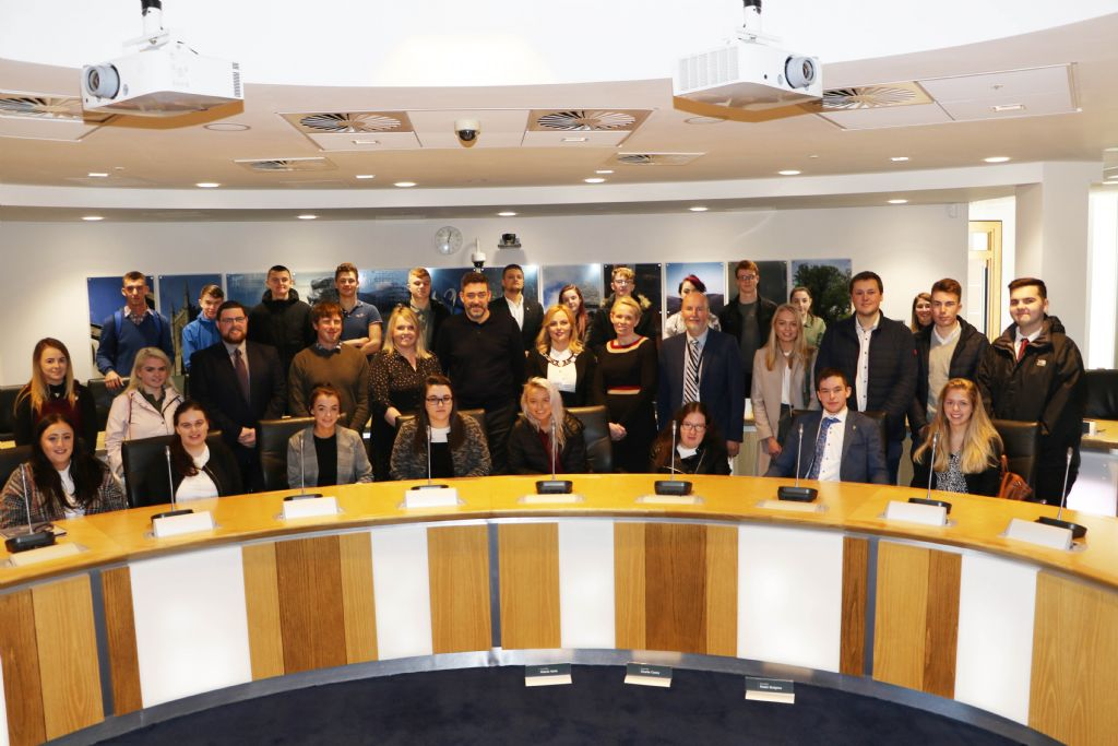 Young  People Mark Local Democracy Week