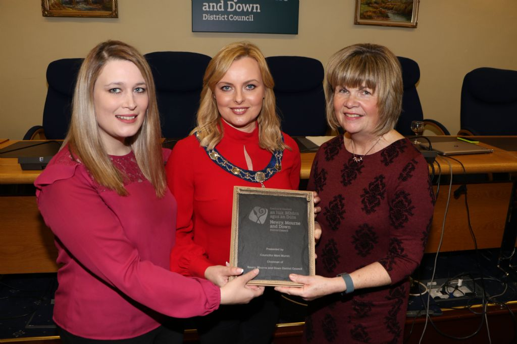 Council Reception Highlights Contribution of Shine