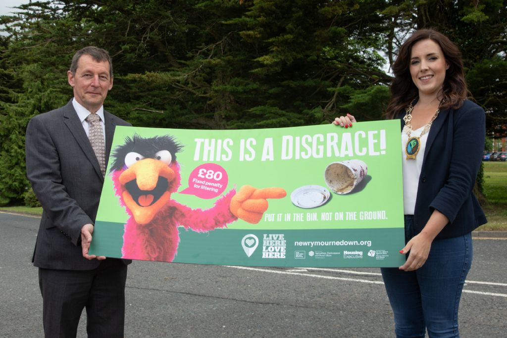 Council Launches New Campaign to Tackle Littering in the District