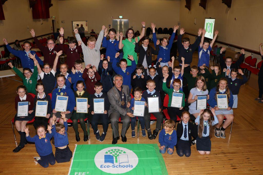 It's Good to be Green: Schools Receive Recognition at Green Flag Event