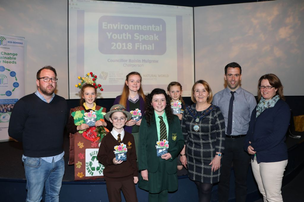 Local Pupils Have Their Say at Environmental Competition