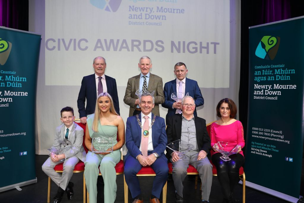 photo 2 civic awards night in newry