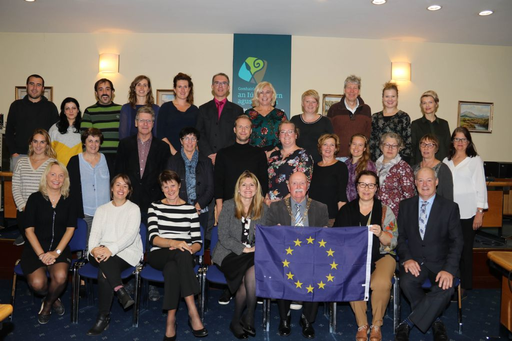 Council Hosts Reception for EU and Local College Partners