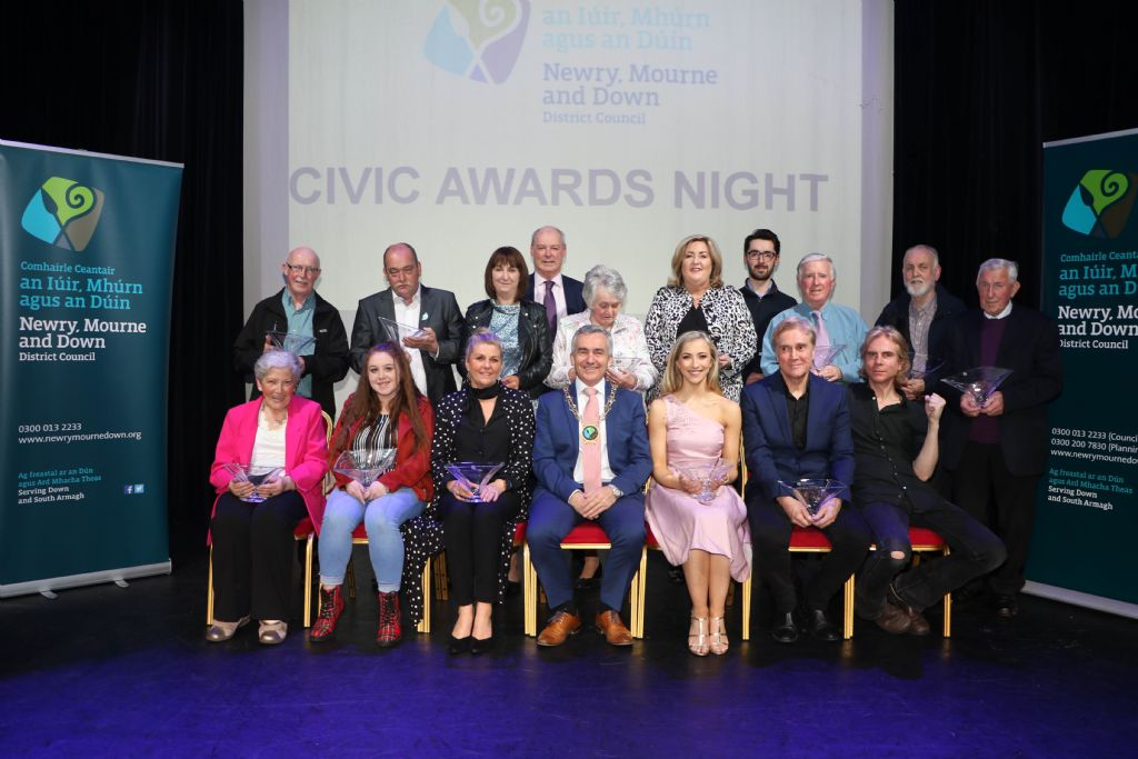 photo 3 civic awards night in newry