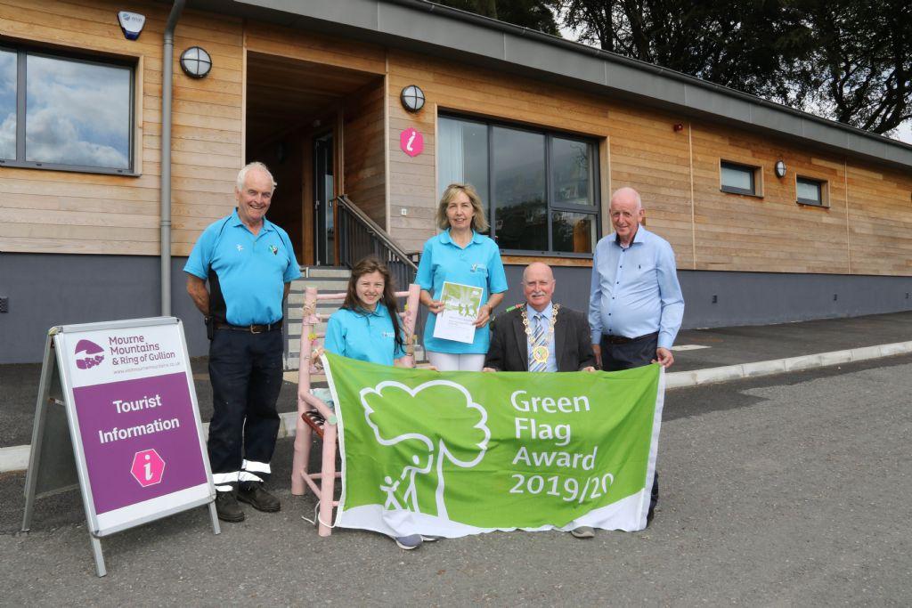 photo 3 green flag award for slieve gullion park