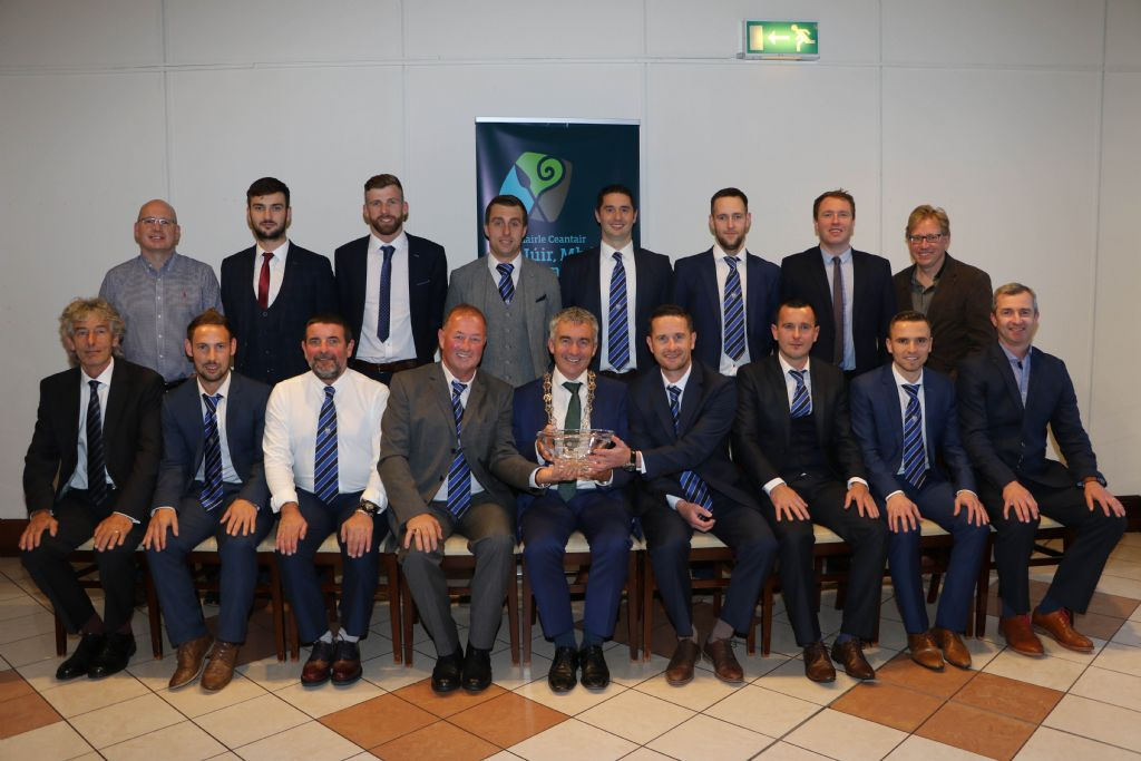 Chairman Celebrates Newry City AFC Promotion to Top League