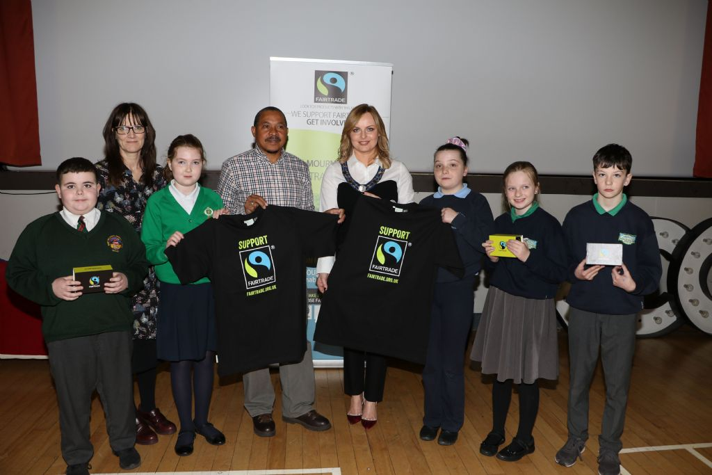Fairtrade Producer Meets Schools on Visit to Newcastle
