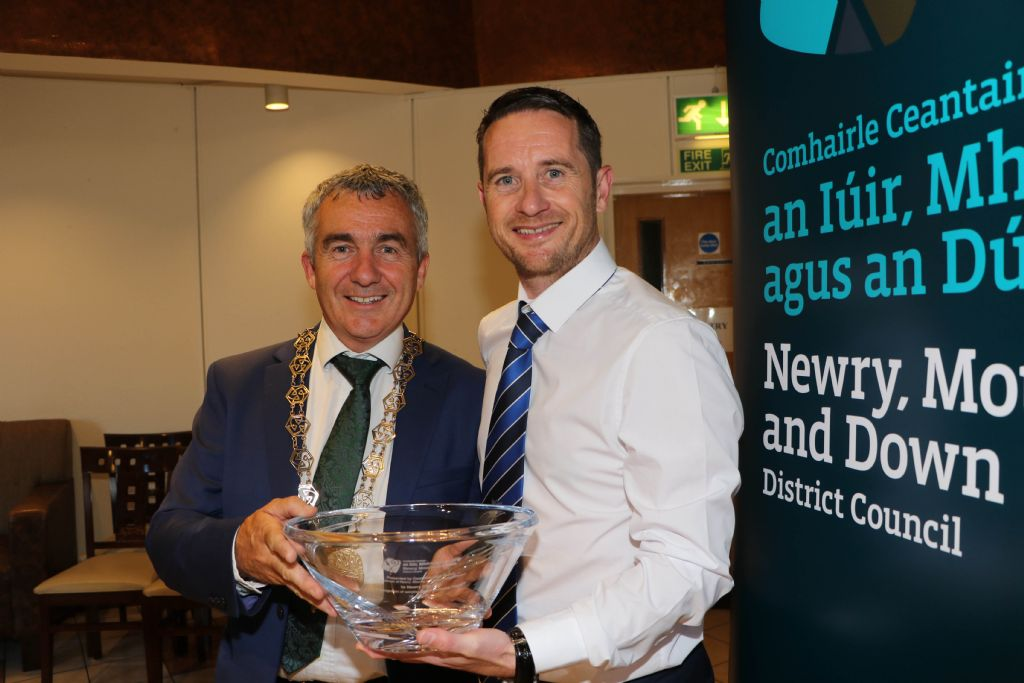 photo 4 newry city afc reception in  arts centre