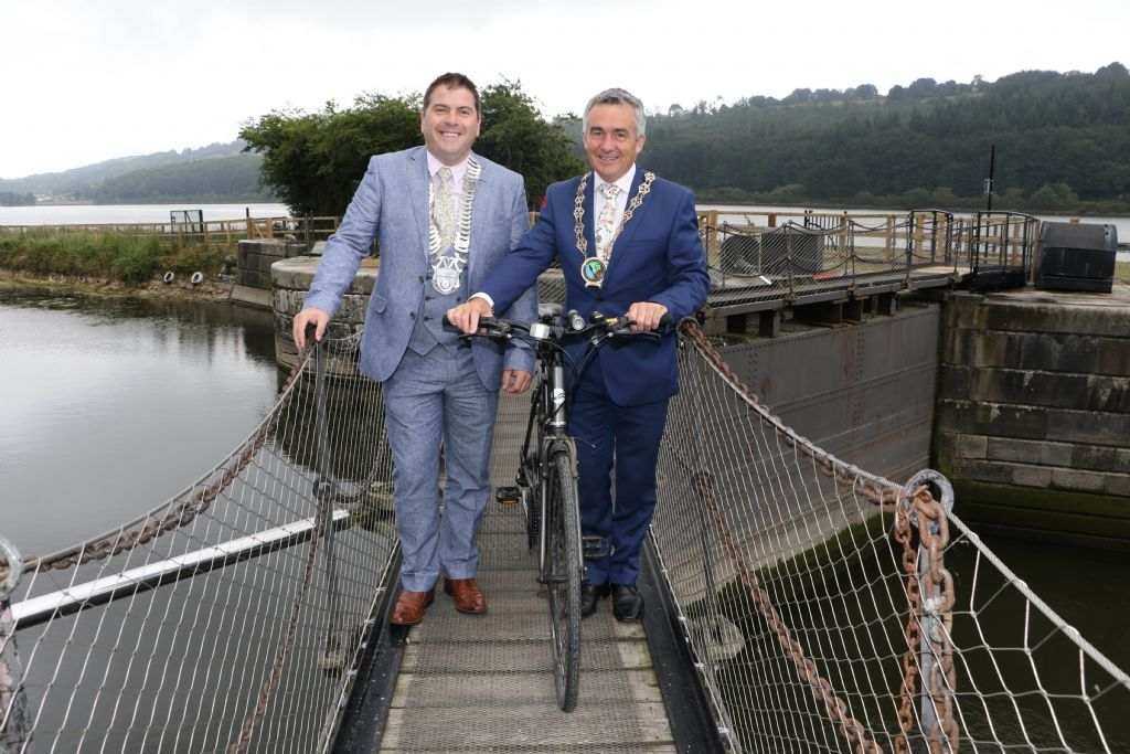 Carlingford Lough Greenway Officially Opens from Newry to Victoria Lock