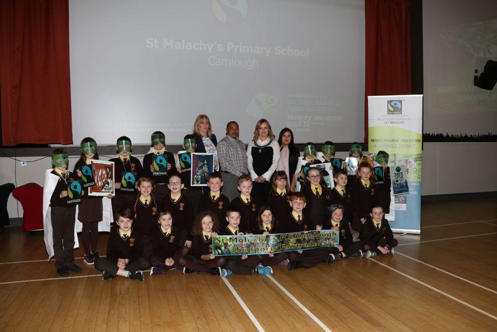 photo 5 fairtrade fornight schools event newcastle