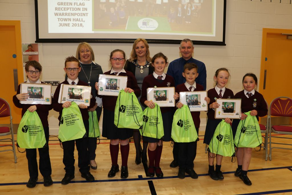 St Bronagh's Primary School Hosts Eco-Schools Event