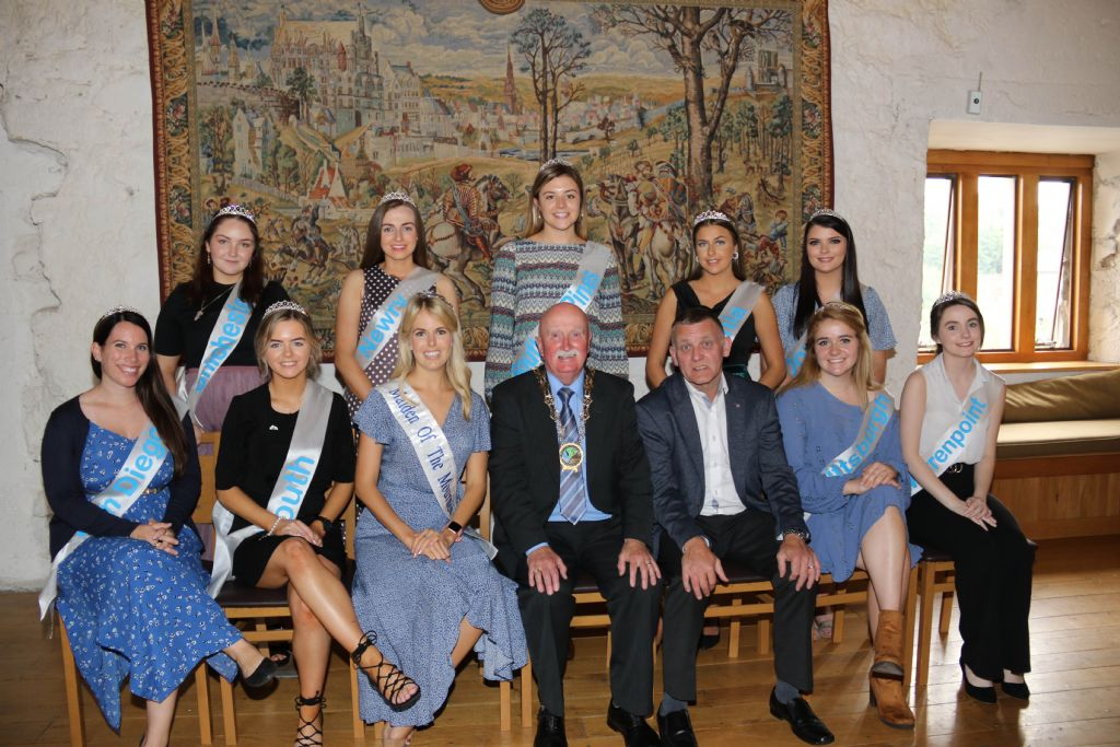 Chairperson Councillor Casey Welcomes Maidens of the Mournes