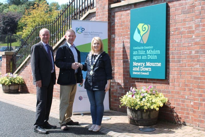 NEWRY, MOURNE AND DOWN PCSP CHAIRPERSON ANNOUNCED