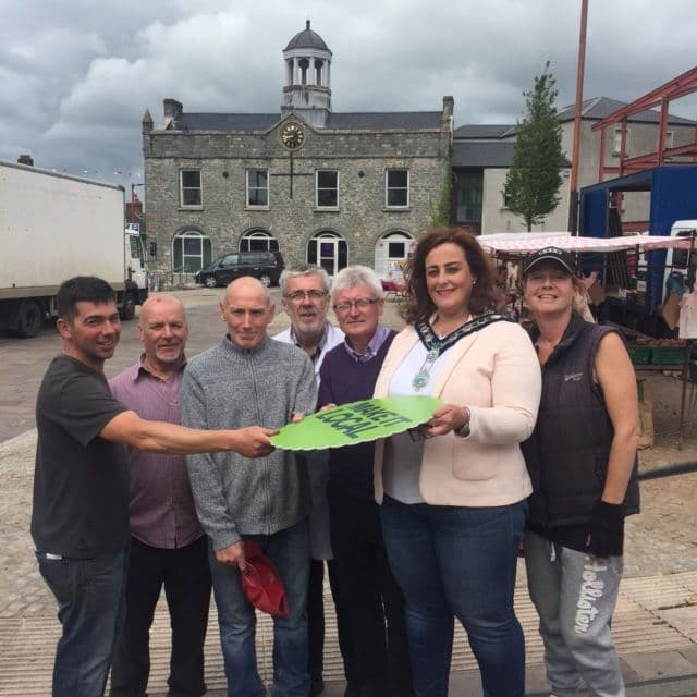 Market Traders Promote 'Make it Local' Campaign