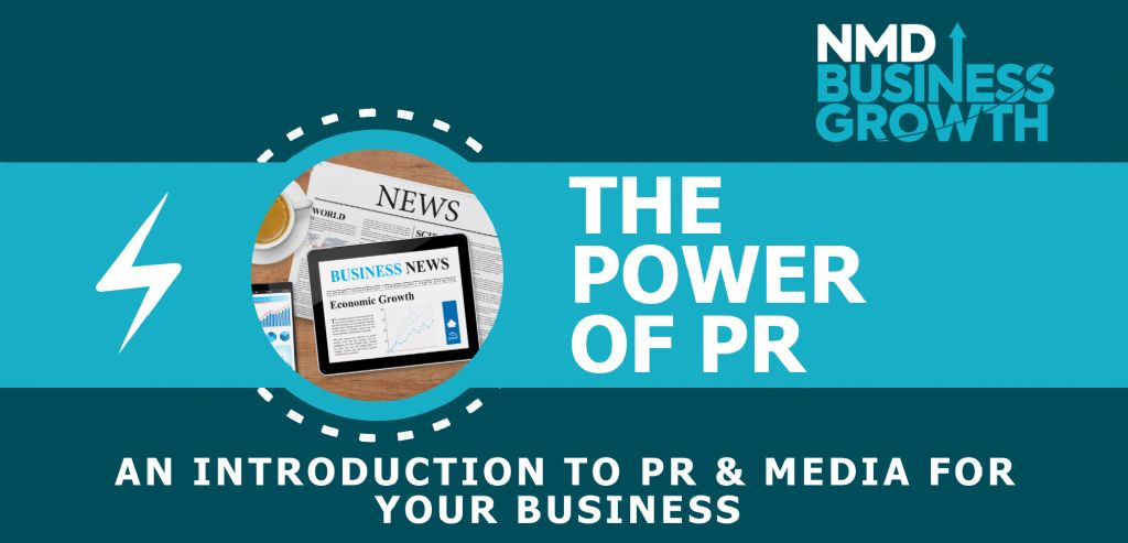 'Power of PR' Training Programme for Small Local Businesses
