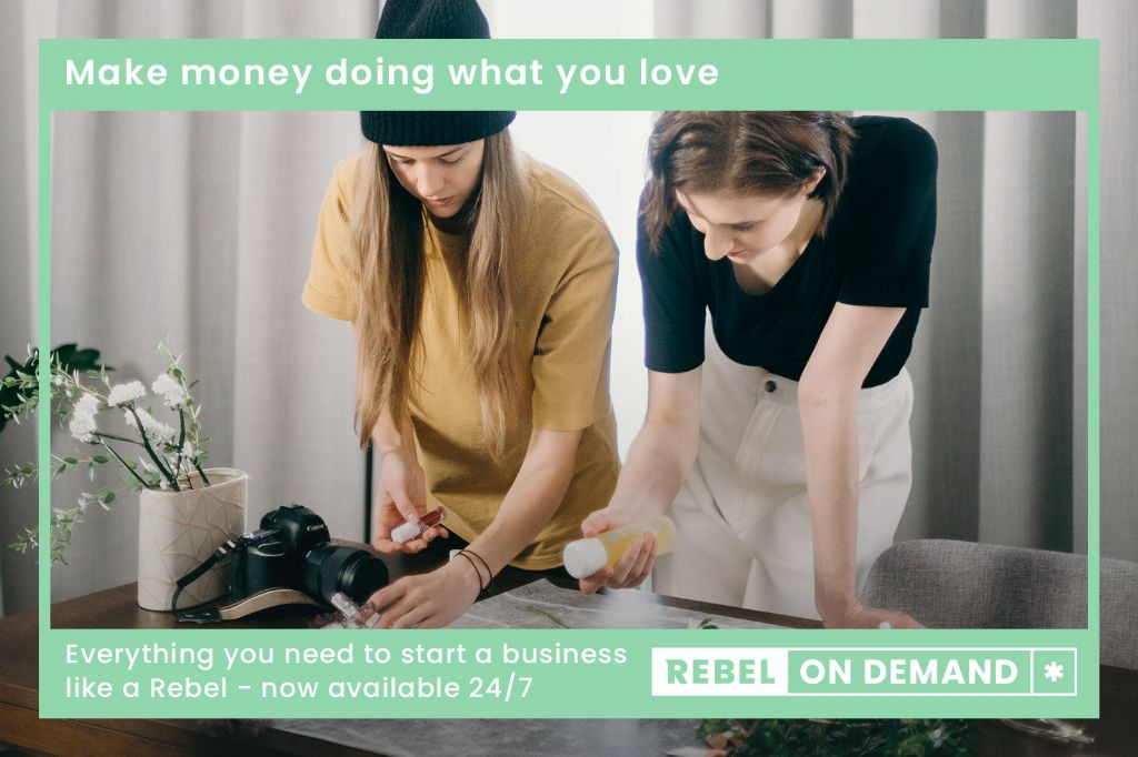 District's Budding Entrepreneurs to Access Free 'Rebel on Demand' Online Bitesize Business Support