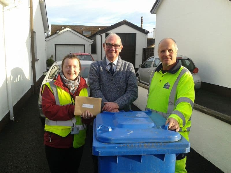 Newcastle Resident Wins December Recycler of the Month