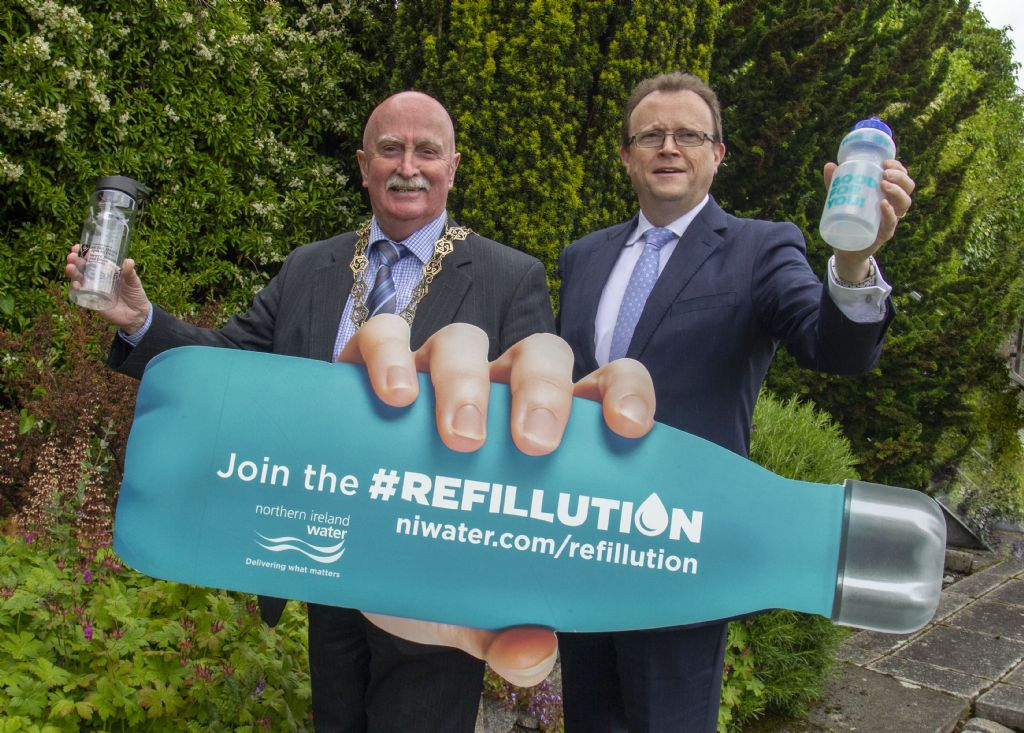 Newry, Mourne and Down District Council supports #Refillution Campaign