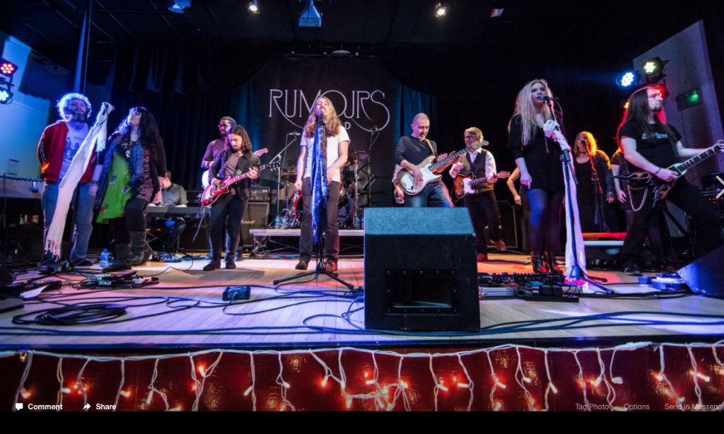 Rumour Has It…Fleetwood Mac Tribute Band Close To Sell Out